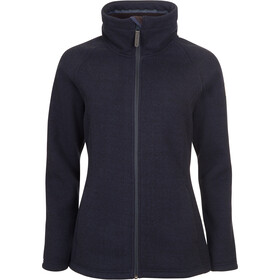 Elkline Destination Fleece Jacke Damen blueshadow